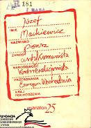 Mackiewicz antykomunista kontrrewolucjonista Wybór artykułów Wybor artykulow Warszawa Maraton 1986 FC AR 181